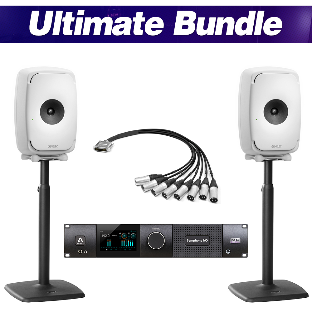 [GENELEC X APOGEE] Ultimate Bundle (White)