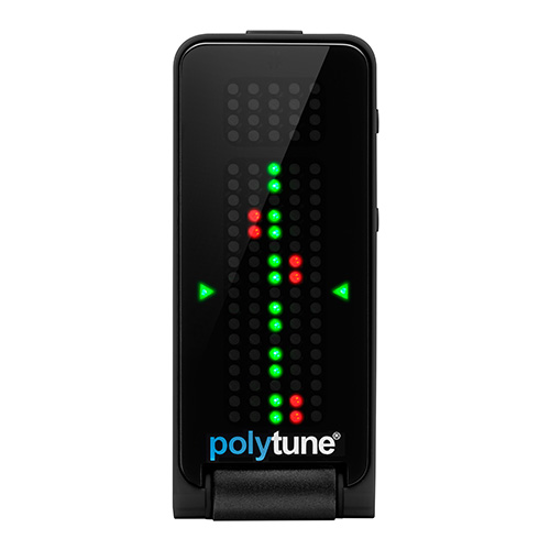 [TC Electronic] PolyTune Clip Black / 기타 튜너