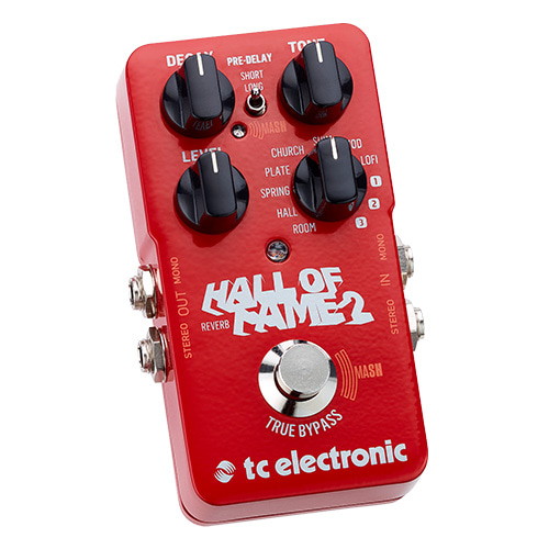 [TC Electronic] Hall of Fame 2 Reverb / 기타 이펙터