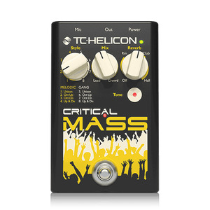 [TC Helicon] Critical Mass 이펙터
