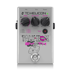 [TC Helicon] Talkbox Synth / 이펙터