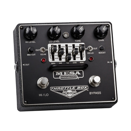 [MESA BOOGIE] Throttle box EQ / 이펙터