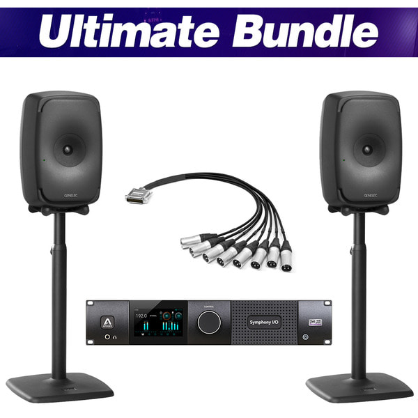 [GENELEC X APOGEE] Ultimate Bundle (Black)