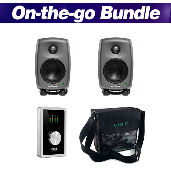 [GENELEC X APOGEE] On-the-go Bundle (Black)