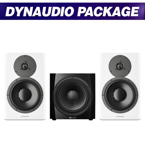 DYNAUDIO LYD8 (White) + 9S (Black) 패키지