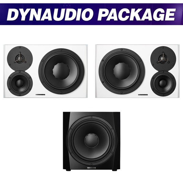DYNAUDIO LYD48 (White) + 9S (Black) 패키지