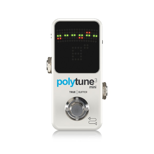 [TC Electronic] Polytune 3 Mini 페달 튜너
