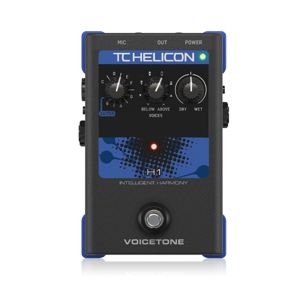 [TC Helicon] Voicetone H1 이펙터 페달