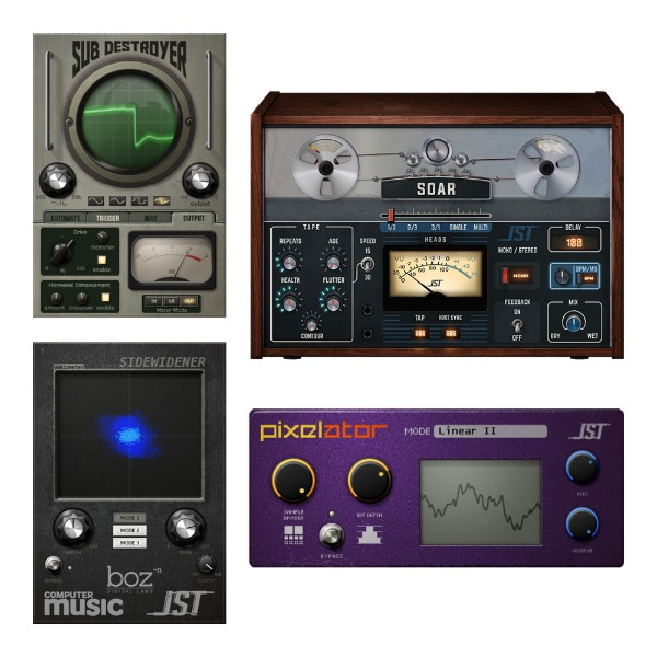 [JST] FX Bundle FX 플러그인(VST)